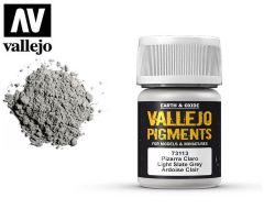 Vallejo Pigments 73113 Light Slate Grey 35ml