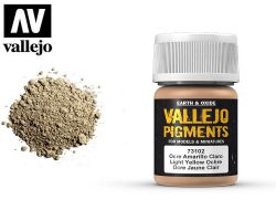 Vallejo Pigments 73102 Light Yellow Ochre 35ml
