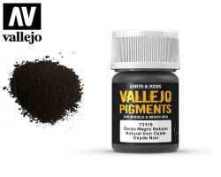 Vallejo Pigments 73115 Natural Iron Oxide 35ml