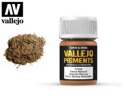 Vallejo Pigments 73105 Natural Sienna 35ml