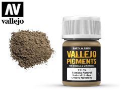 Vallejo Pigments 73109 Natural Umber 35ml