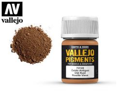Vallejo Pigments 73120 Old Rust 35ml