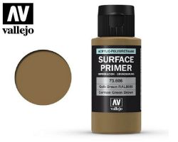 Vallejo 73606 Surface Primer German Green Brown RAL8000 60ml - Podkład akrylowy