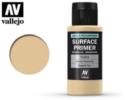 Vallejo 73613 Surface Primer Desert Tan Base 60ml. - Podkład akrylowy