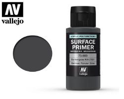 Vallejo 73603 Surface Primer German Panzer Grey (RAL 7021) 60ml - Podkład akrylowy