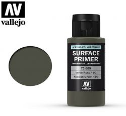 Vallejo 73609 Surface Primer Russian Green 4BO - Podkład akrylowy - 60ml.