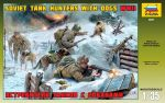 Zvezda 3611 Soviet Tank Hunters with Dogs 1:35