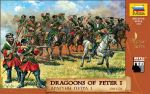 Zvezda 8072 Dragoons of Peter I the Great (1701-1721) 1:72