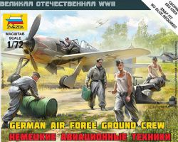 Zvezda 6188 German Air Force Ground Crew 1:72