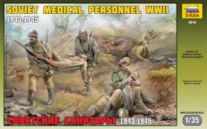 Zvezda 3618 Soviet Medical Personnel [1943-45] 1:35