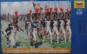 Zvezda 8030 - French Emperors Old Guards 1804-1815 1:72